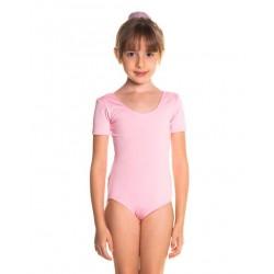 Collant de Ballet com Manga Curta Infantil