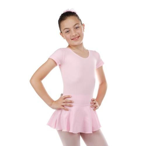Collant Com Saia Infanto juvenill Ballet - Em Helanca