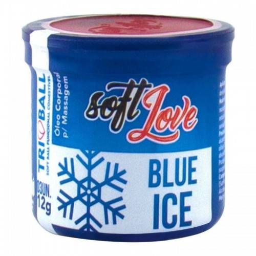Kit 3 Bolinha Blue Ice Triball Soft Ball Soft Love