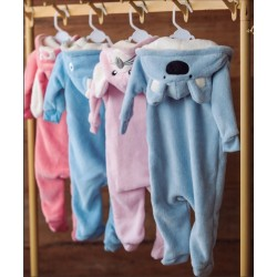 Pijama Infantil Fantasia 0 A 3 Meses