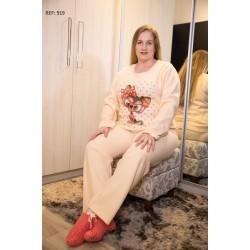Pijama Inverno Soft  PLUS SIZE
